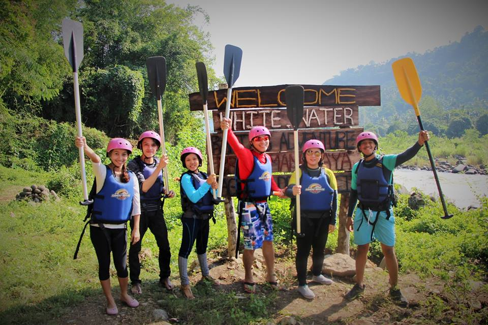 how to get to white water rafting cdo