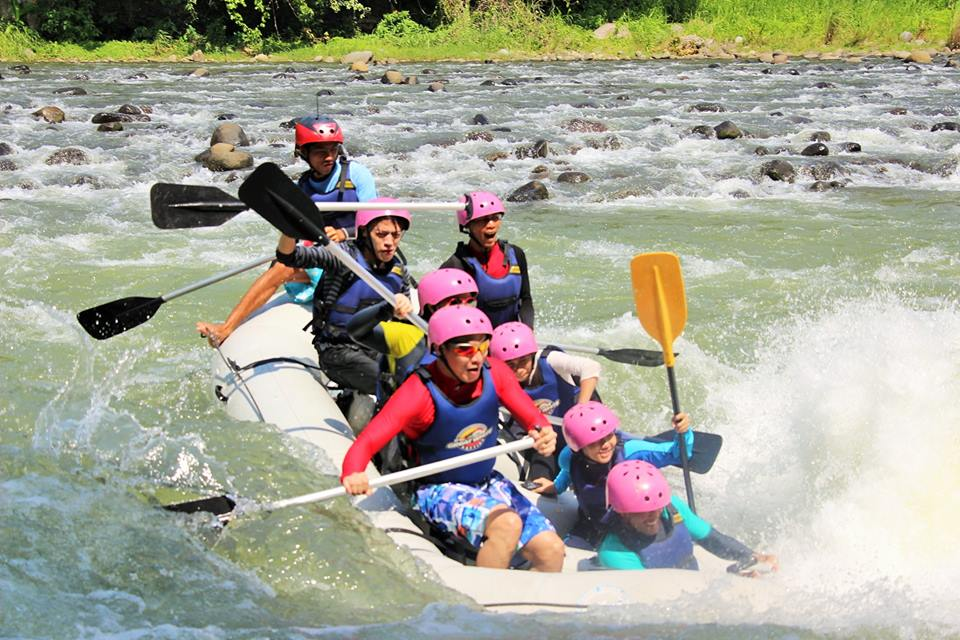 rafting action acadeo