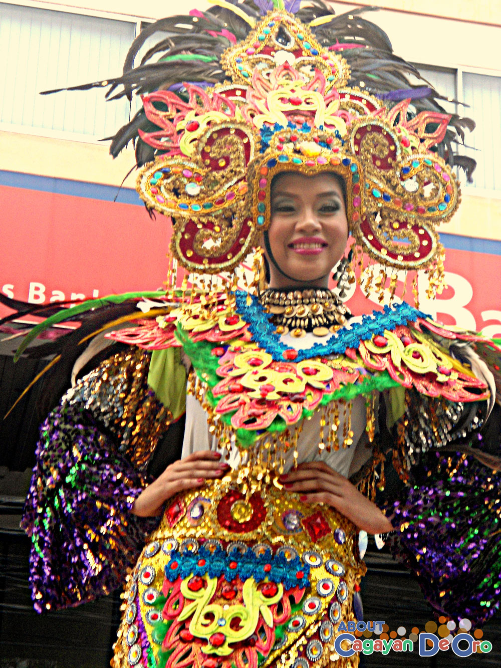 Barangay Carmen Carnival Queen - Cagayan de Oro Carnival Parade