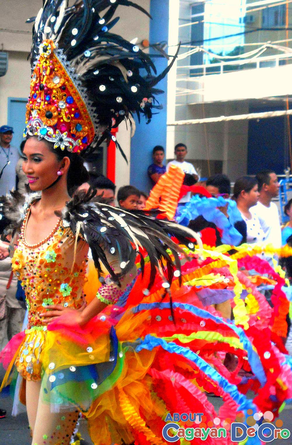Barangay Gusa Carnival Queen - Cagayan de Oro Carnival Parade 2015