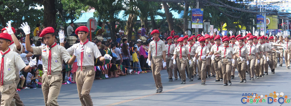 BSP at Cagayan de Oro The Higalas Parade of Floats and Icons 2015