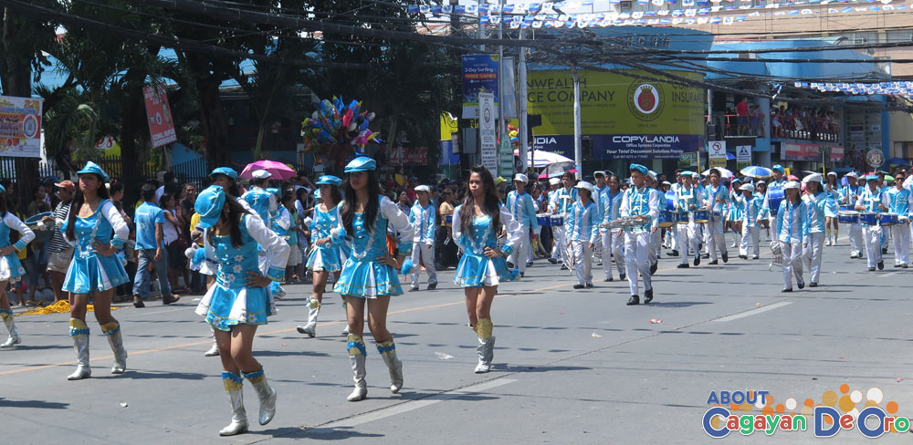 Iponan National High School at Cagayan de Oro The Higalas Parade of Floats and Icons 2015