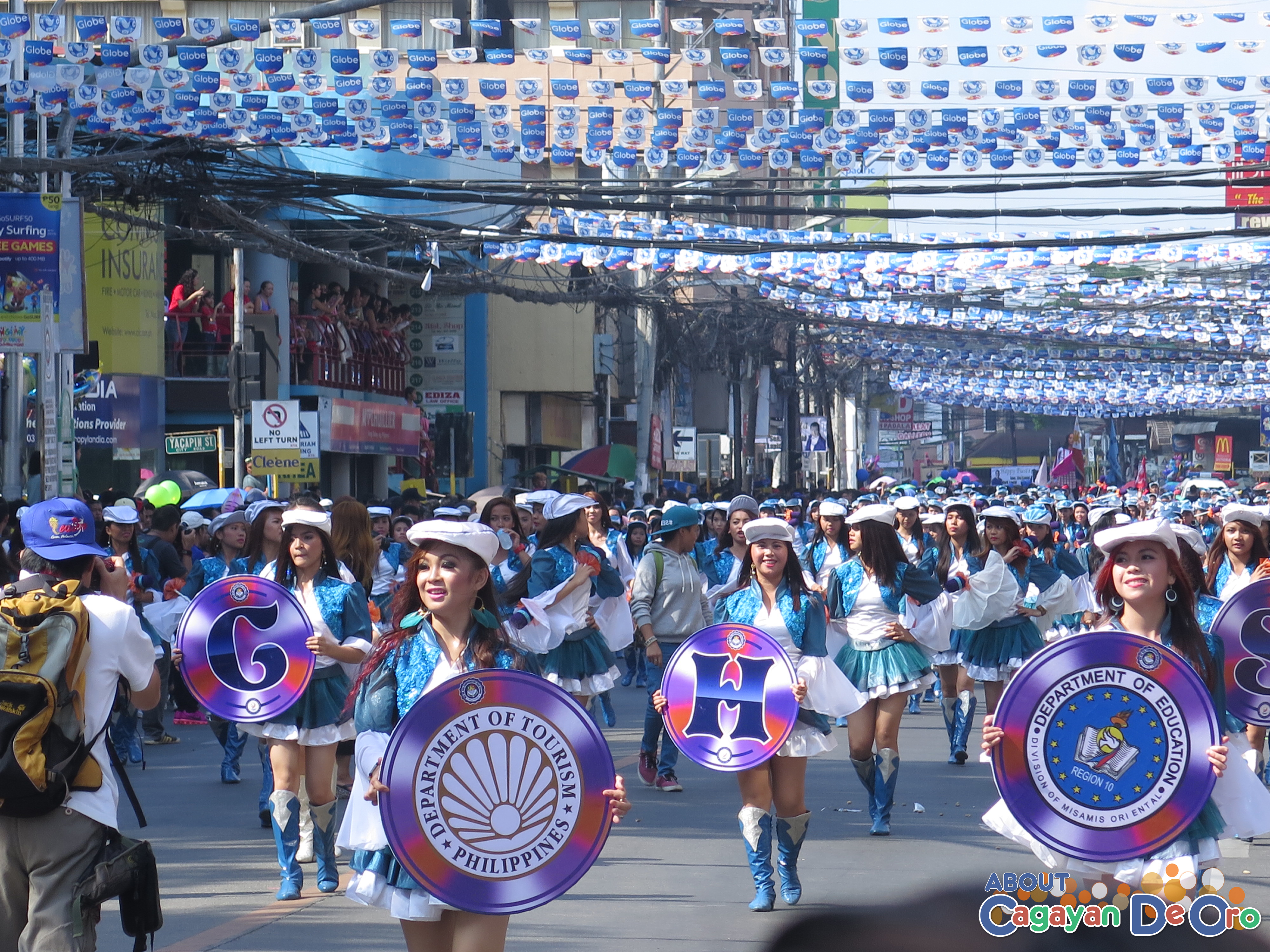 MOGCHS at Cagayan de Oro The Higalas Parade of Floats and Icons 2015