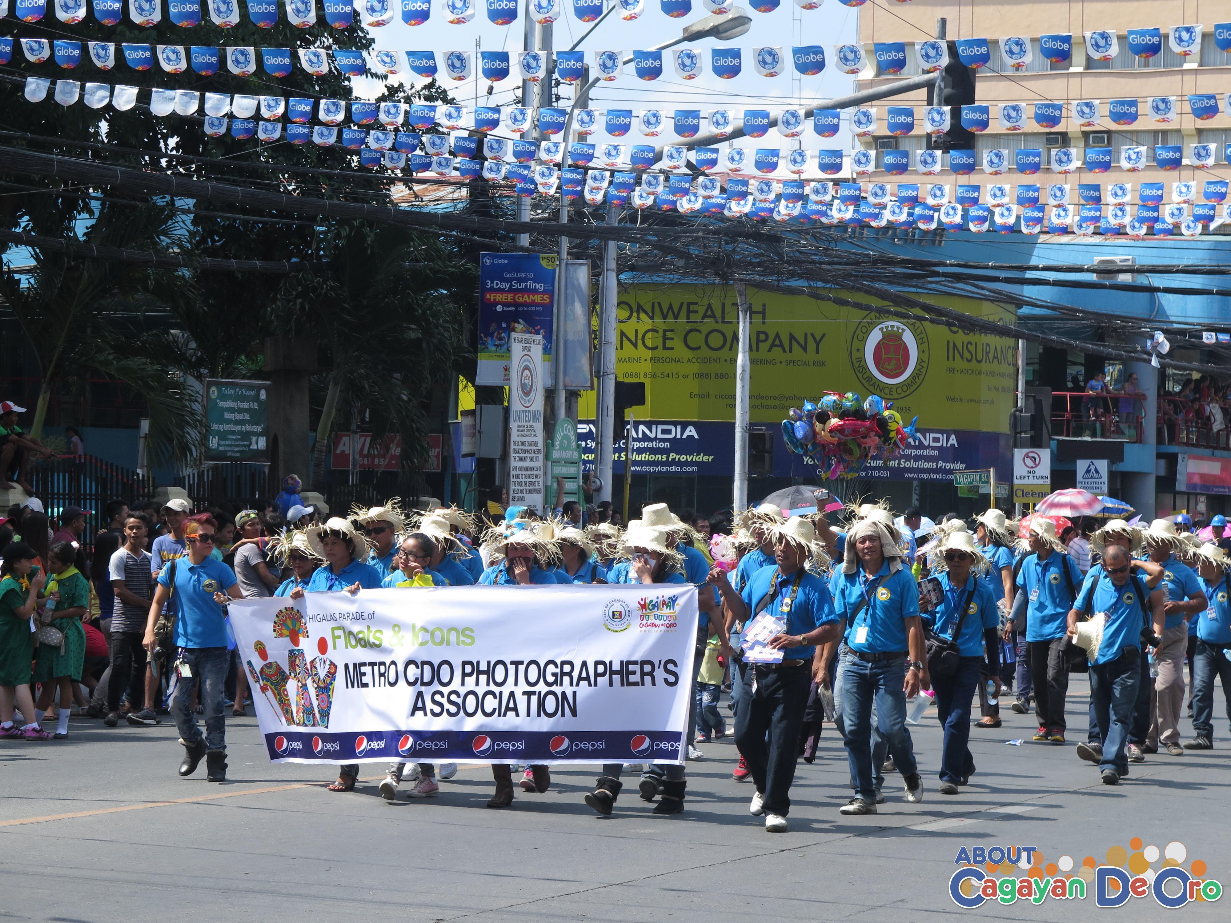 Metro CDO Photographer's Association at Cagayan de Oro The Higalas Parade of Floats and Icons 2015