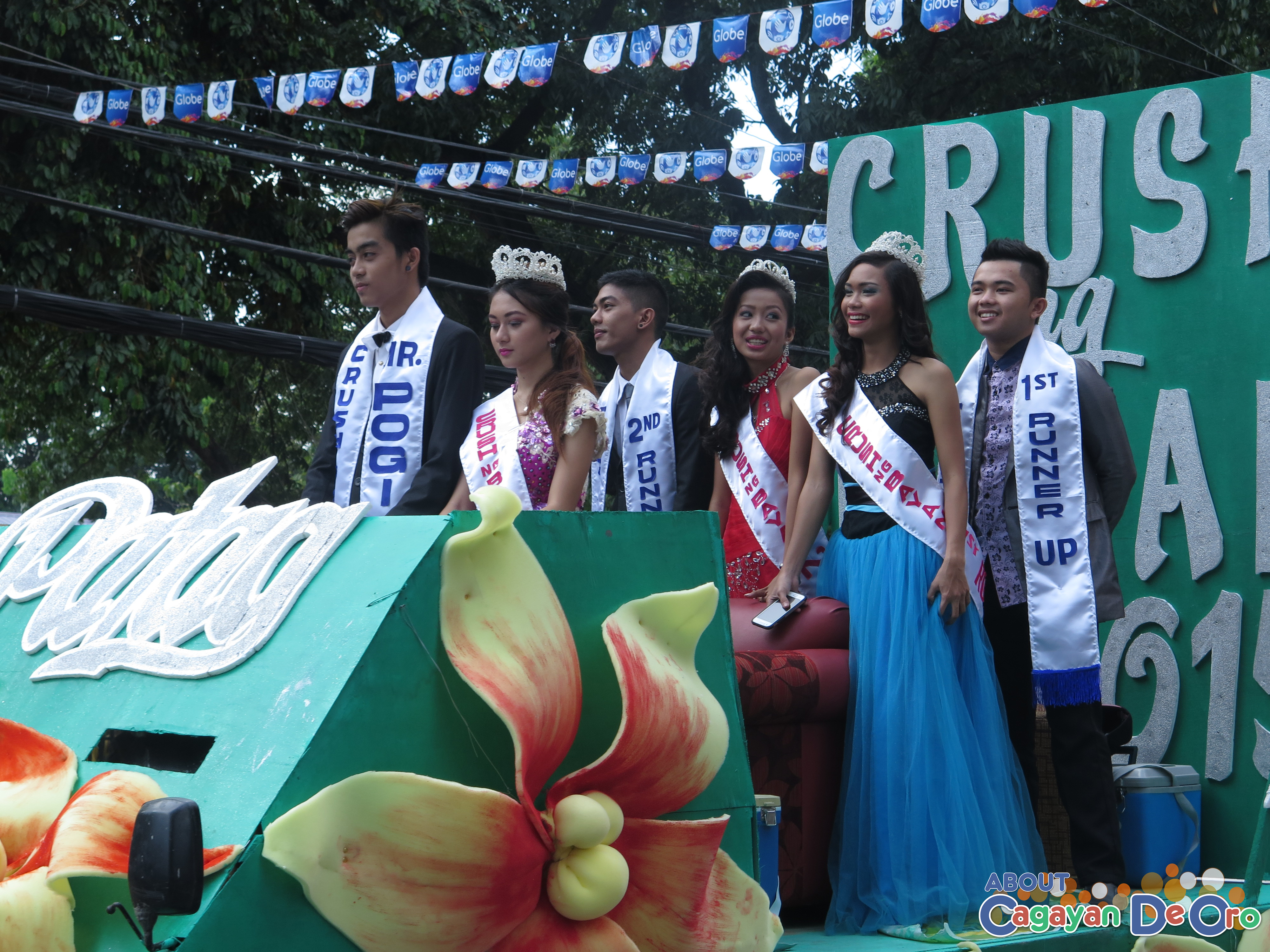Mr Pogi and Young Teens Patag at Cagayan de Oro The Higalas Parade of Floats and Icons 2015