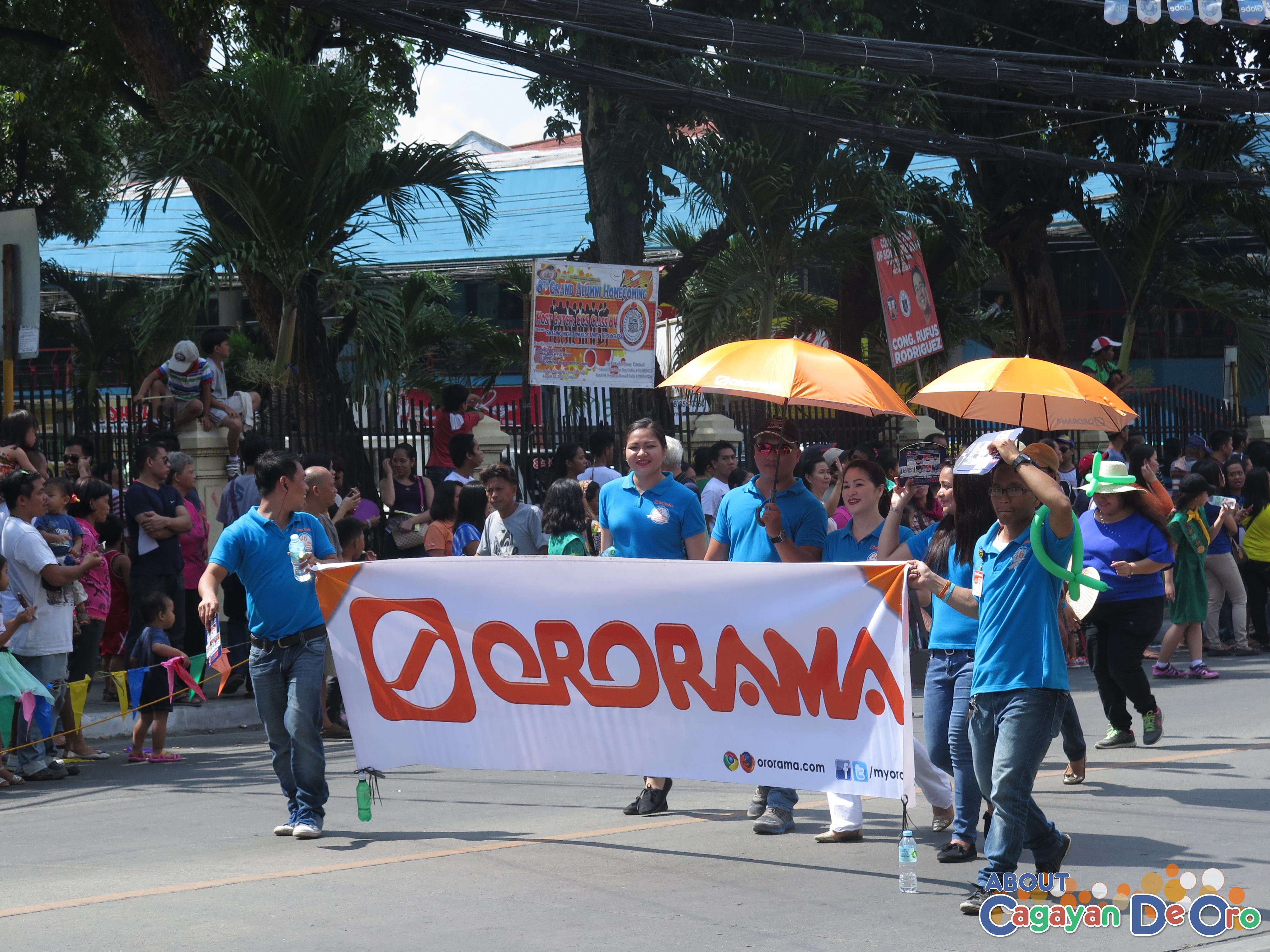 Ororama at Cagayan de Oro The Higalas Parade of Floats and Icons 2015