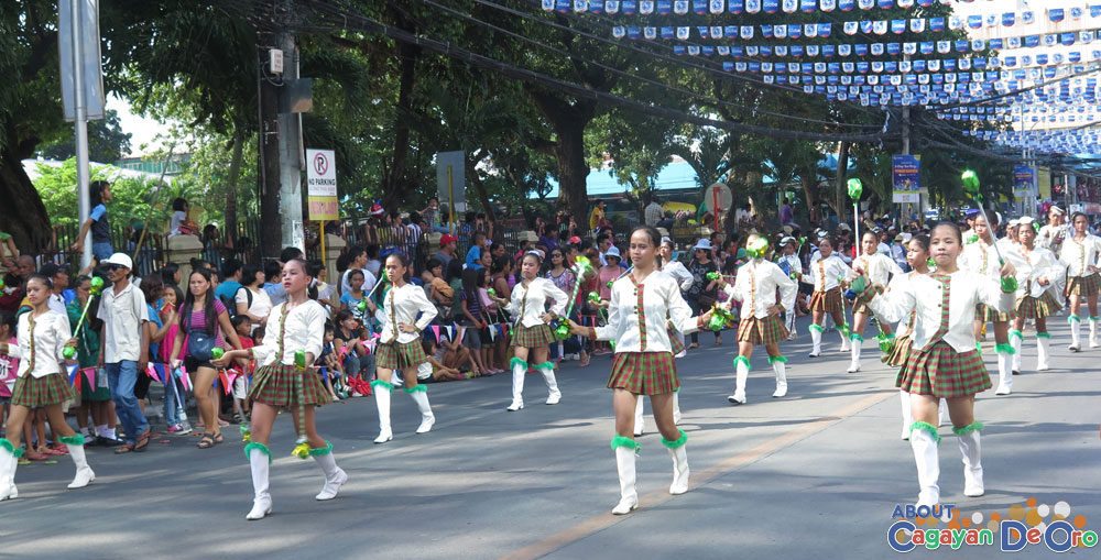 TNHS at Cagayan de Oro The Higalas Parade of Floats and Icons 2015