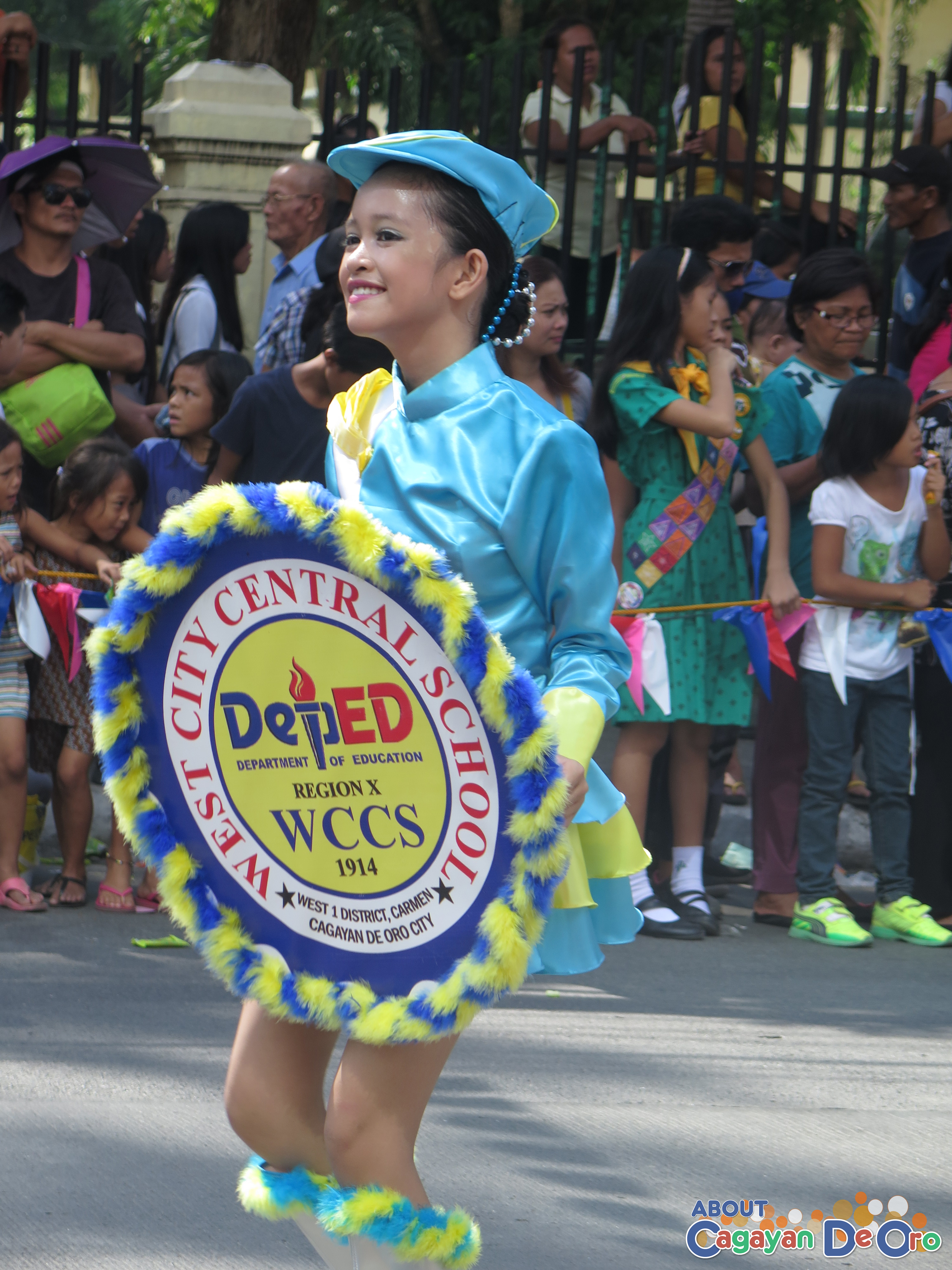 West City Central School at Cagayan de Oro The Higalas Parade of Floats and Icons 2015