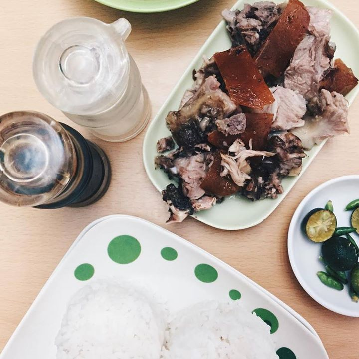 lechon plate in poldo's