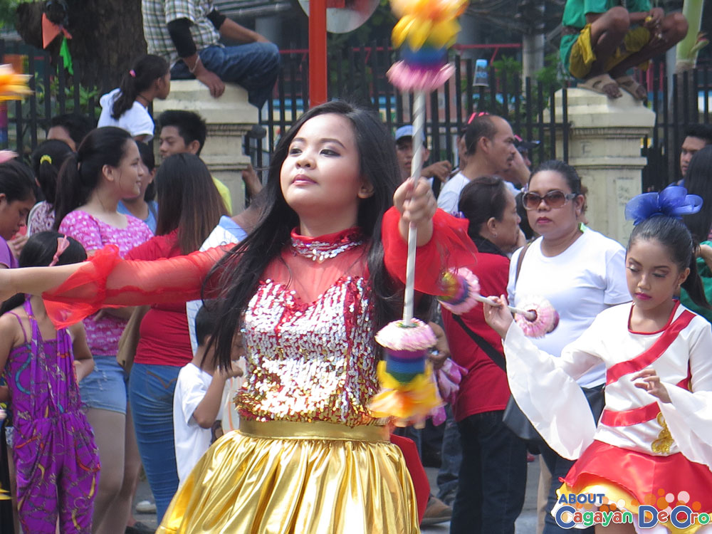 Camaman-an Elementary School at Cagayan de Oro The Higalas Parade of Floats and Icons 2015