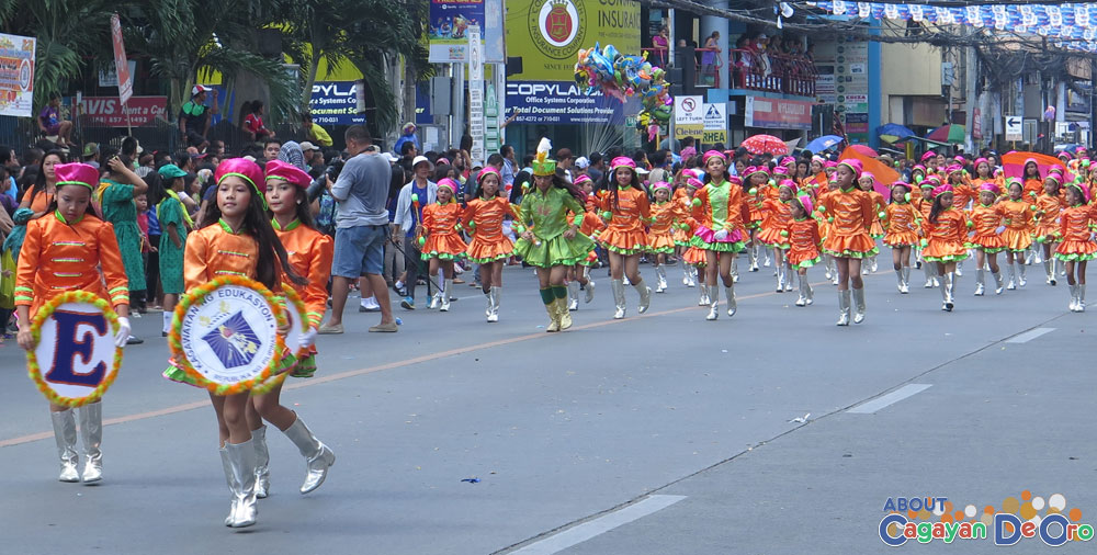 Camp Evangelista Elementary School at Cagayan de Oro The Higalas Parade of Floats and Icons 2015