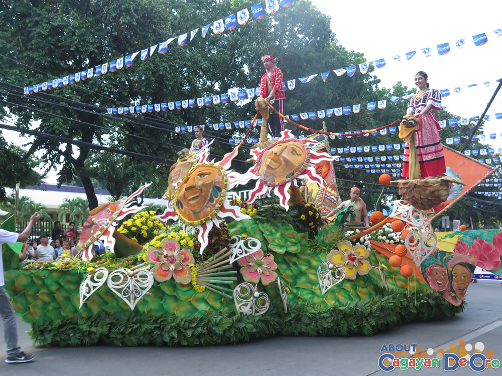 Concentrix Float Cagayan de Oro The Higalas Parade of Floats and Icons 2015