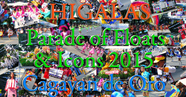Higalas Parade of Floats and Icons 2015 Cagayan de Oro