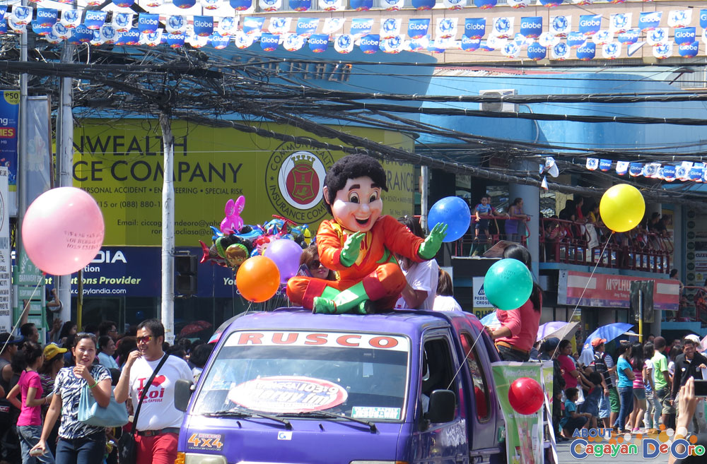 Cagayan de Oro The Higalas Parade of Floats and Icons 2015