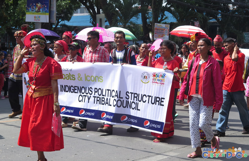 Indigenous Political Structure City Tribal Council at Cagayan de Oro The Higalas Parade of Floats and Icons 2015