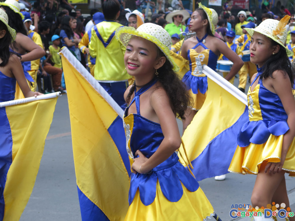 Macabalan Elementary School at Cagayan de Oro The Higalas Parade of Floats and Icons 2015