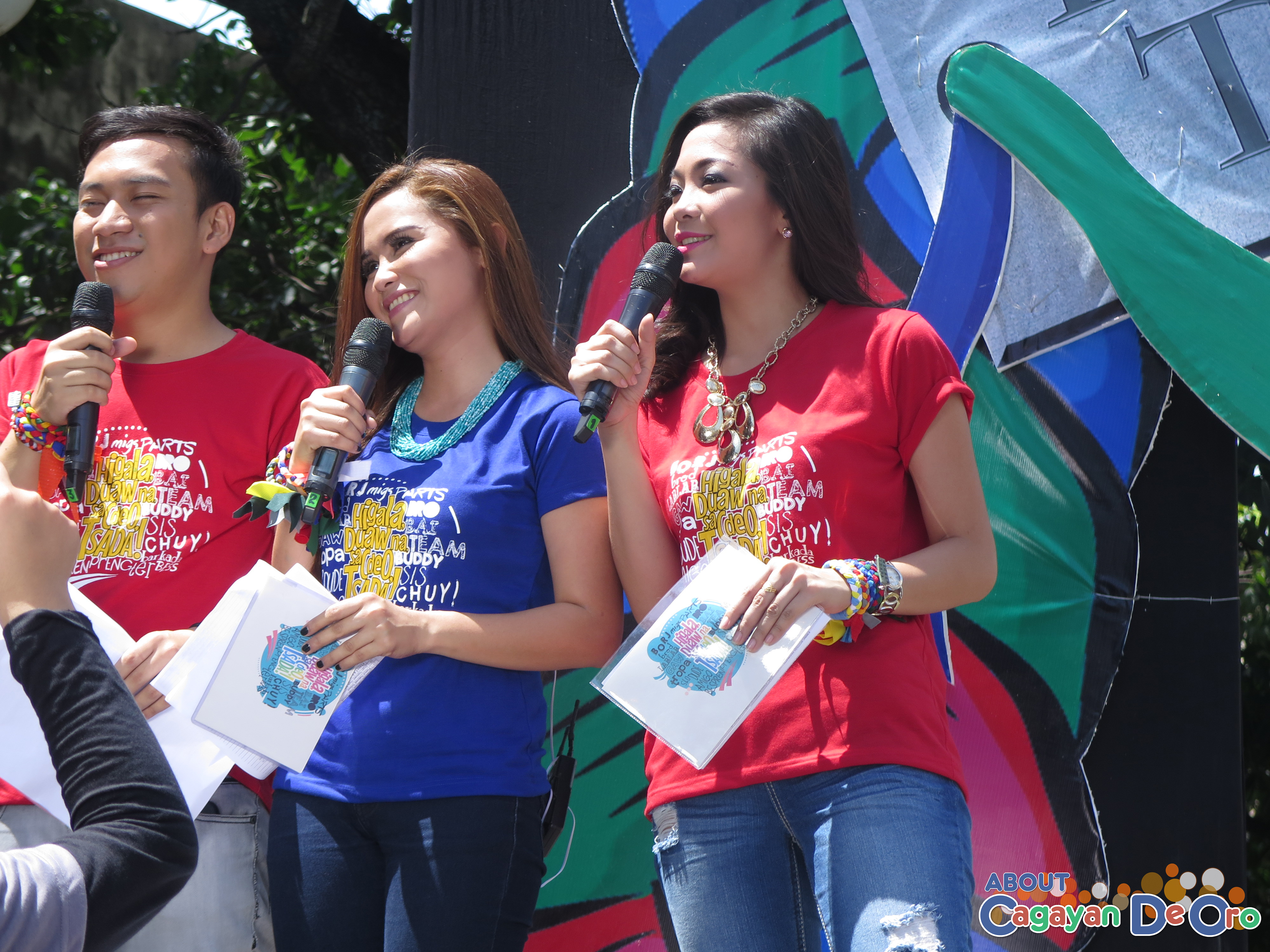 MagTV Hosts at Cagayan de Oro The Higalas Parade of Floats and Icons 2015