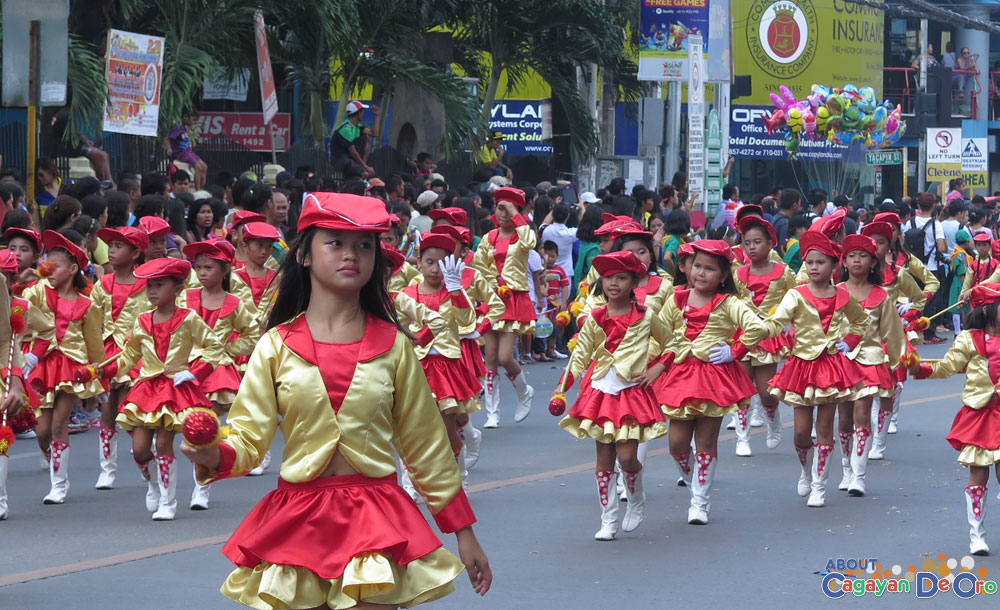 North City Central School at Cagayan de Oro The Higalas Parade of Floats and Icons 2015