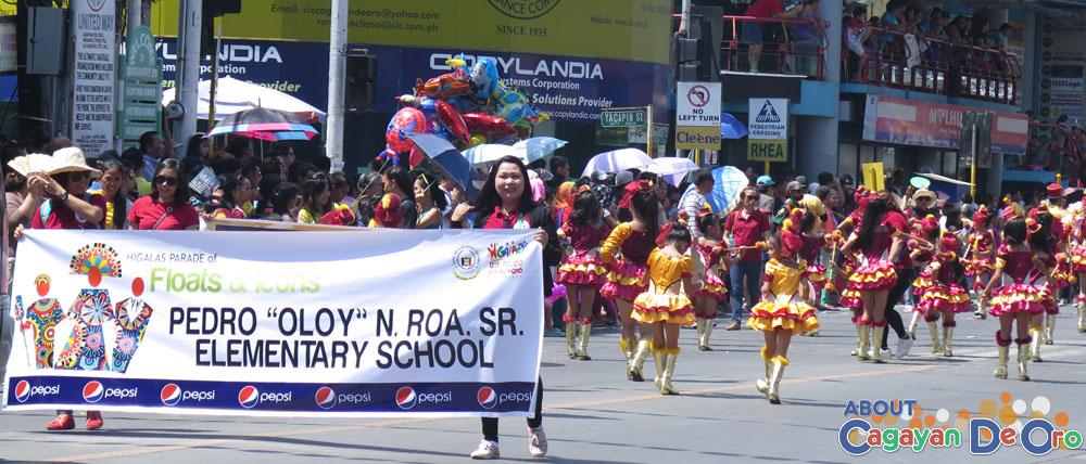 "Pedro N. ""Oloy"" Roa Sr. Elementary School at Cagayan de Oro The Higalas Parade of Floats and Icons 2015"