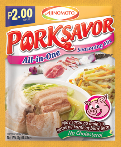 Ajinomoto Pork Savor All-in-One Seasoning Mix