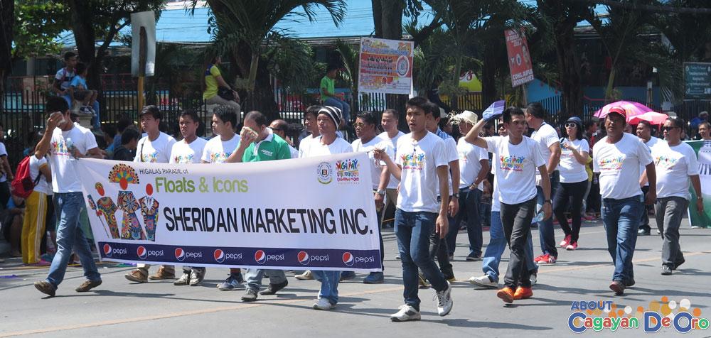 Sheridan Marketing Inc at Cagayan de Oro The Higalas Parade of Floats and Icons 2015