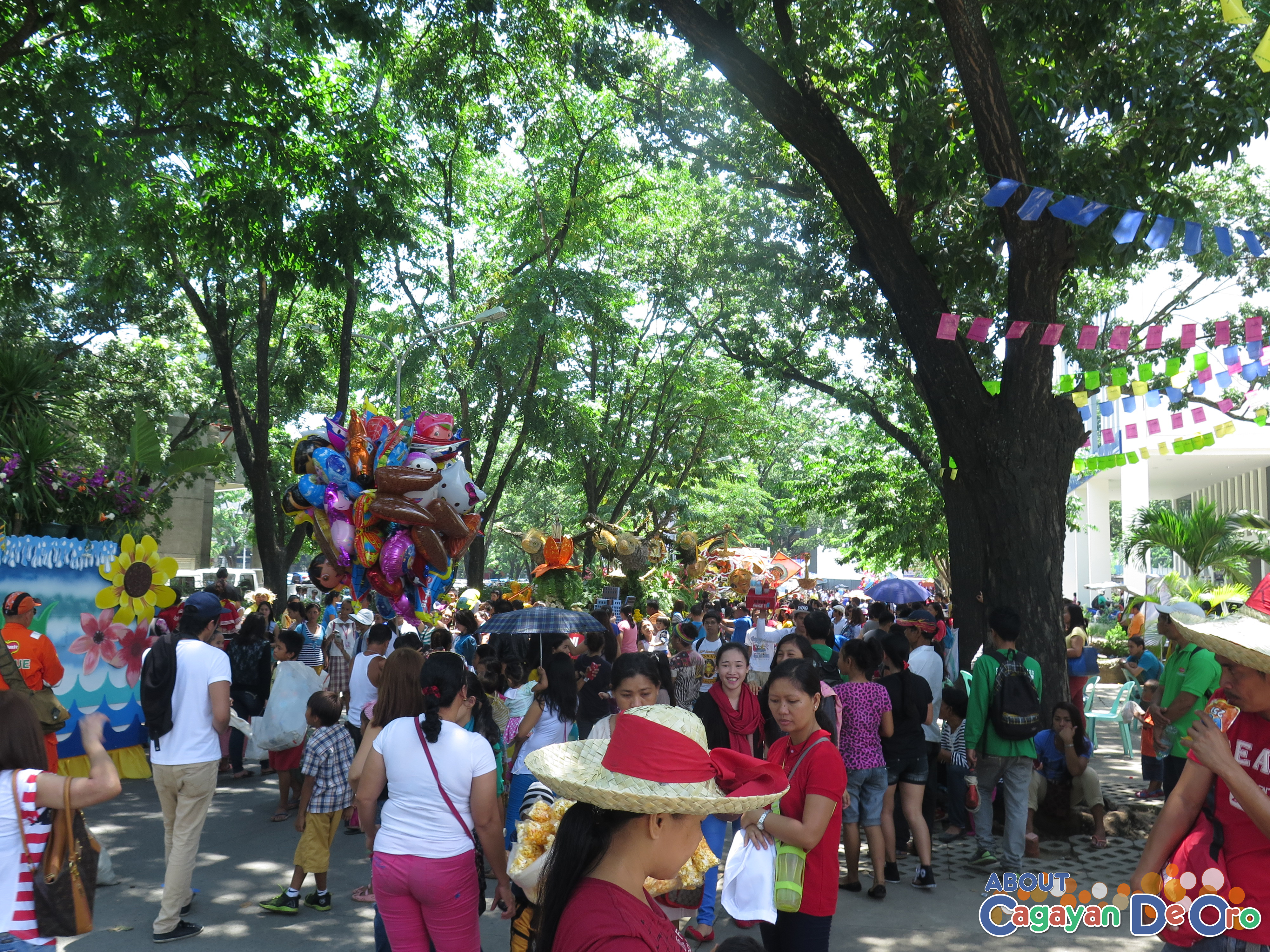 Cagayan de Oro The Higalas Parade of Floats and Icons 2015 at Limketkai Center