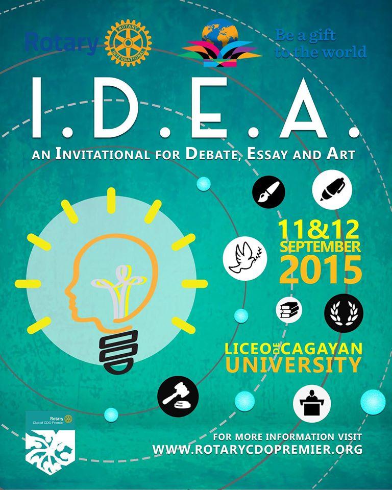I.D.E.A. 2015 - Rotary Club of CDO Premier