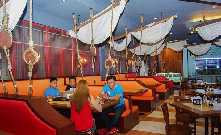 Pirates seafood restaurant and karaoke bar another grub