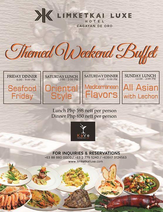 Themed Weekend Buffet