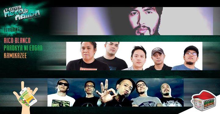 7-Eleven Hero Nation Rock Concert CDO