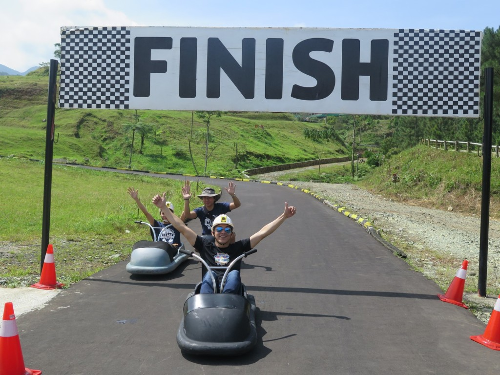 Luge Finish Line