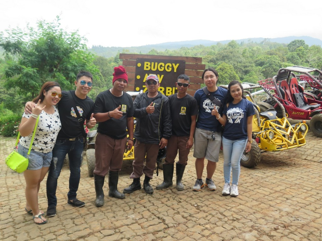 Team Acadeo with the ATV/Buggy Staff