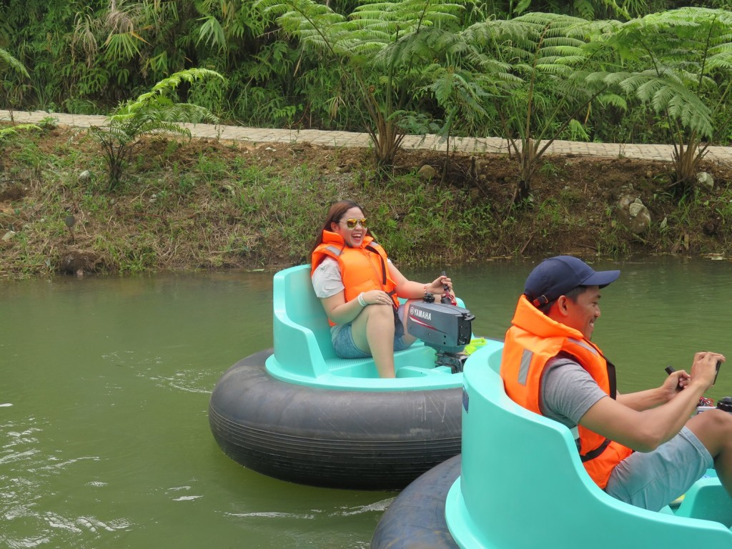 Riding Bumper Boat
