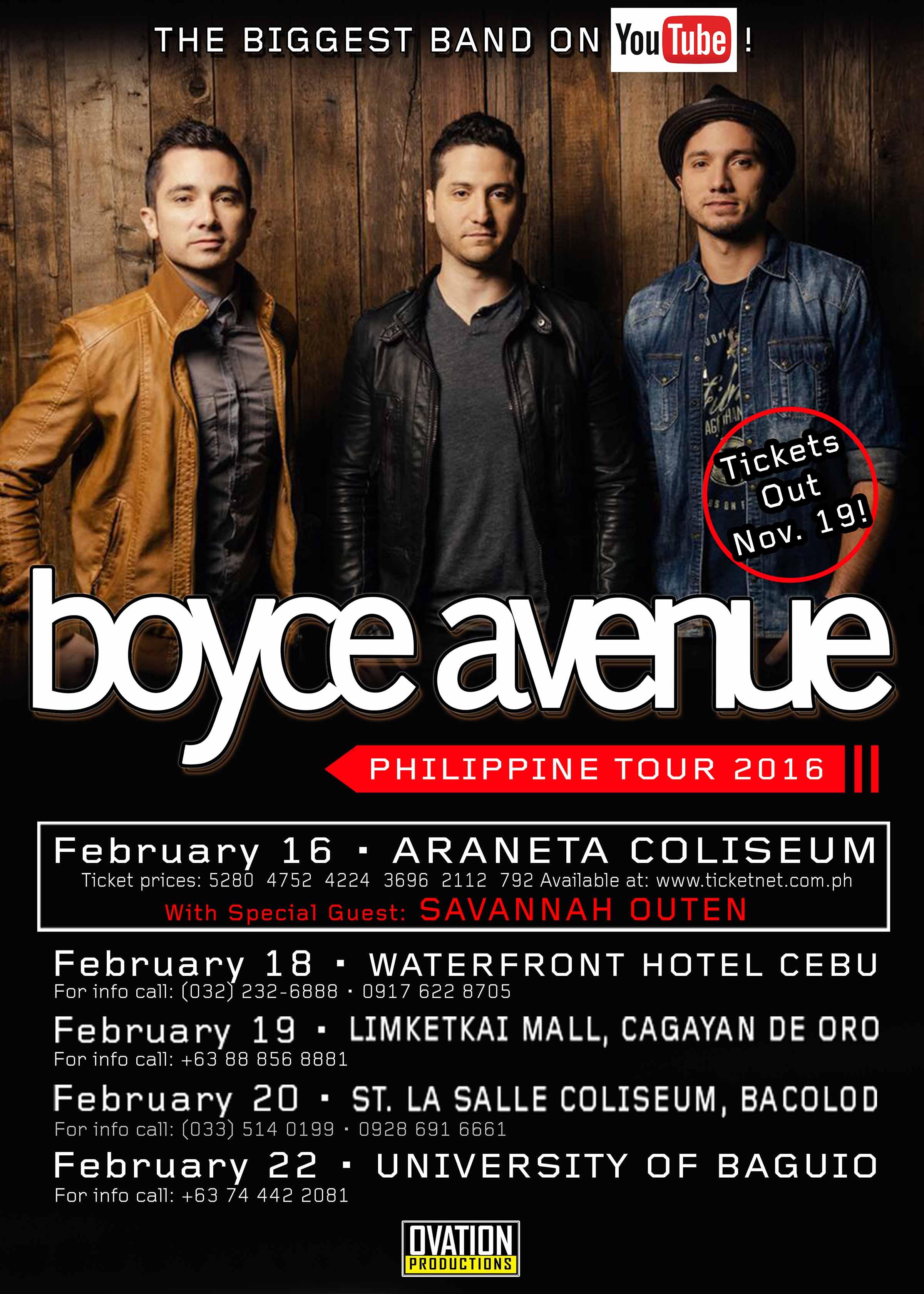 Boyce Avenue in Cagayan de Oro
