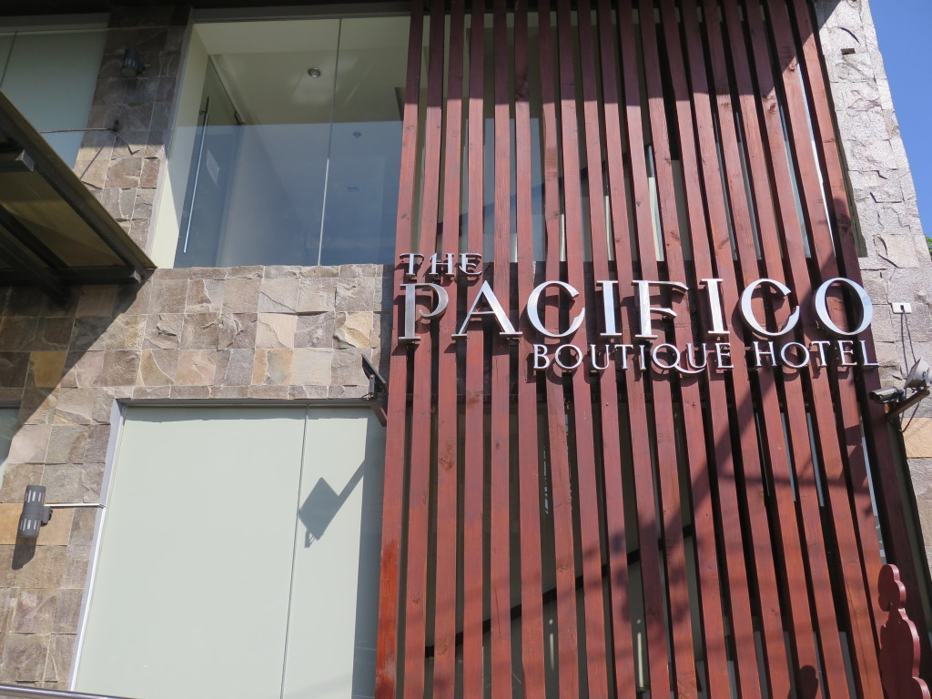 Pacifico Hotel Signage