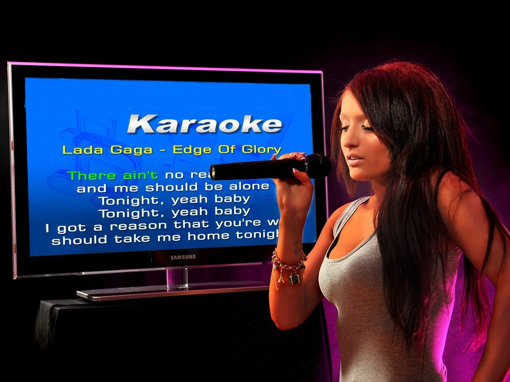 karaoke machine for television