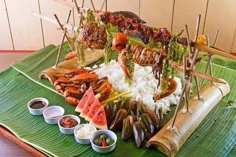 seafood island foods