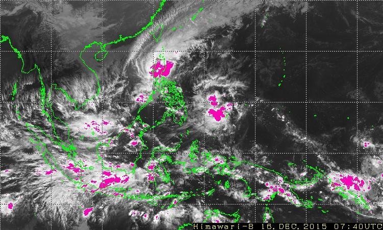 Tropical Depression Onyok in PAR