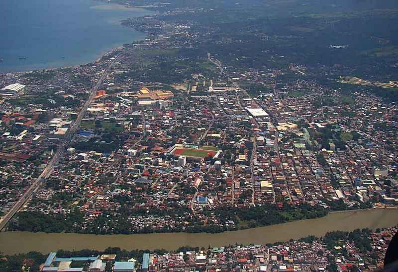 cagayan de oro aerial view