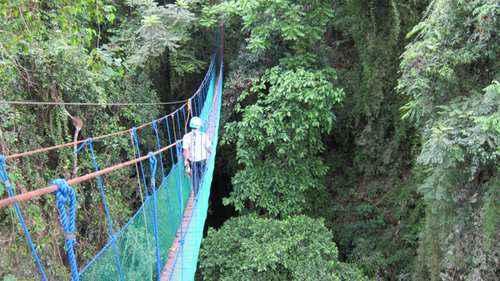sky bridge macahambus adventure park cagayan de oro tourist spots