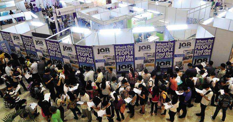 Filipinos Worried More on Employment Opportunities More