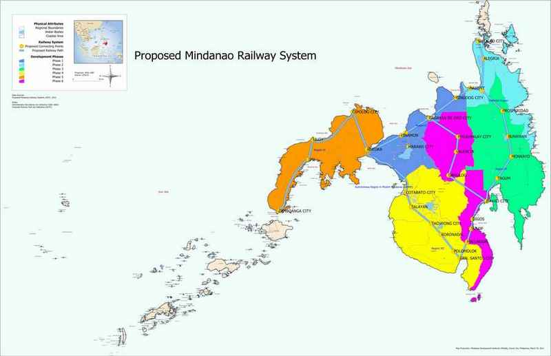 construction of mindanao railway system phase 1 to start in 2017
