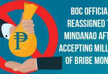boc official sent to mindanao