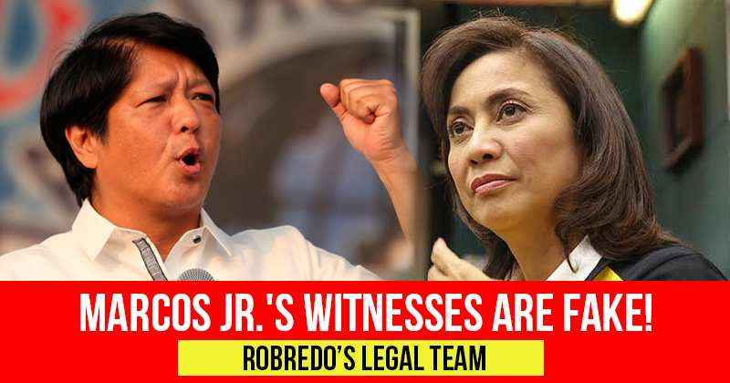 marcos witnesses are fake