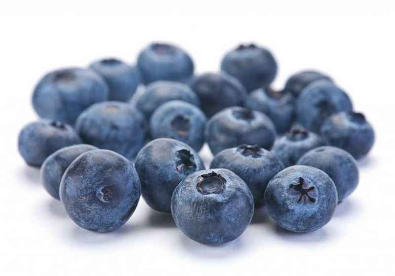 happy foods blueberries