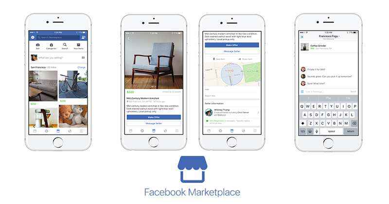 facebook marketplace buy and sell community