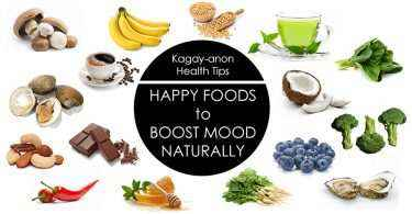 happy foods boost mood