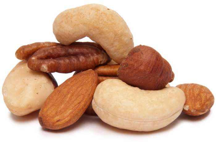 happy foods nuts