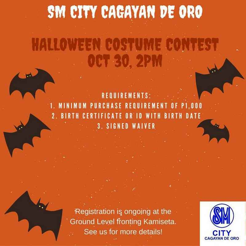 Halloween 2016 events promos cdo