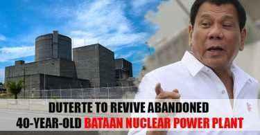 duterte bataan nuclear power plant